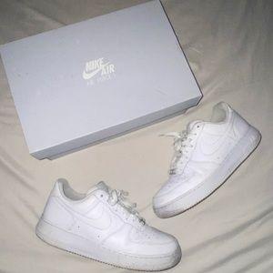 Nike Air Force 1s (AF1) (worn)